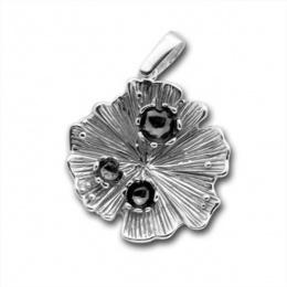 Сребърен медальон без Камък 172873WH-Медальони
