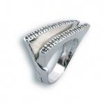 Сребърен пръстен с Камък 1614635-Пръстени