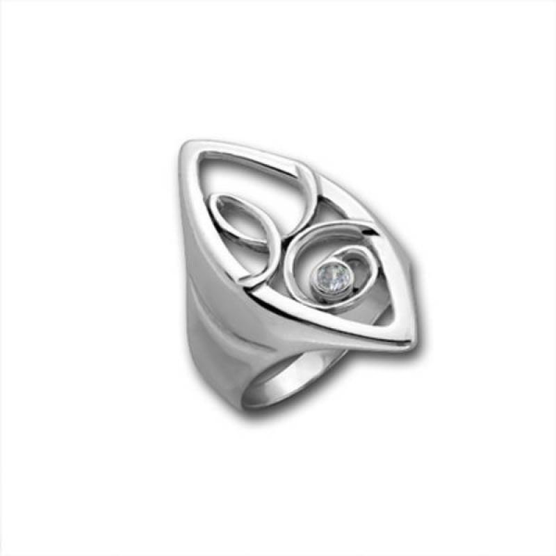 Сребърен пръстен с Камък 1595884-Пръстени