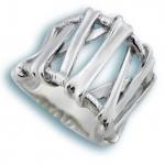 Сребърен пръстен без камък 1515772-Пръстени