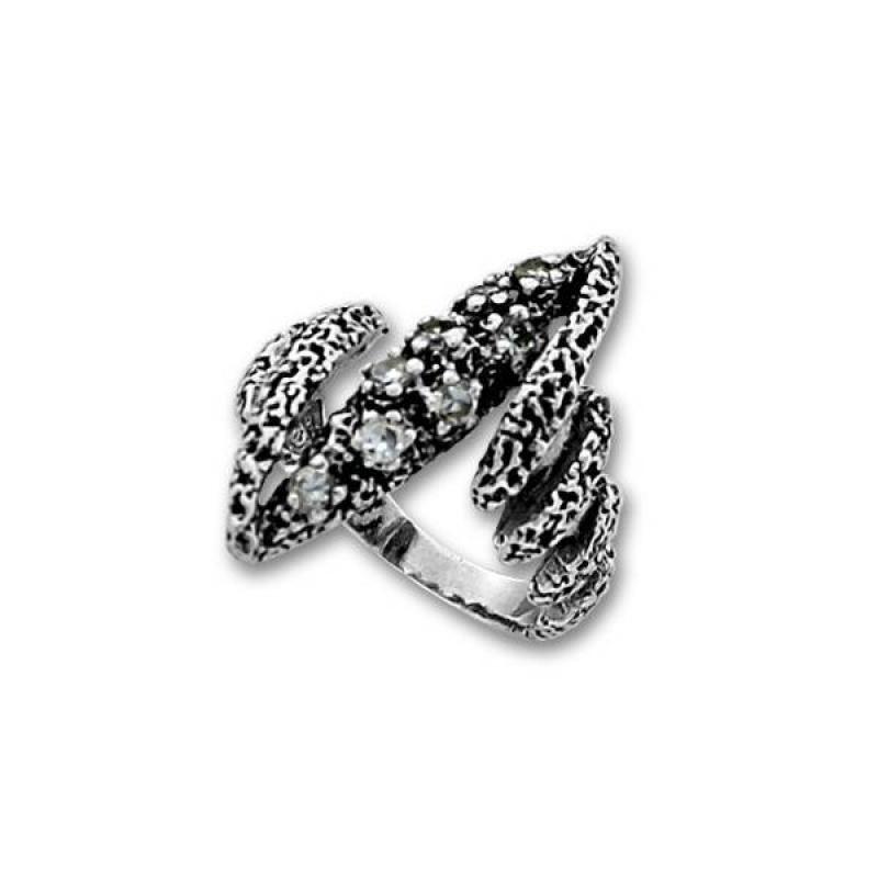 Сребърен пръстен с Камък 1615974-Пръстени