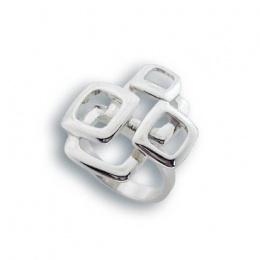 Сребърен пръстен без камък 1545735-Пръстени