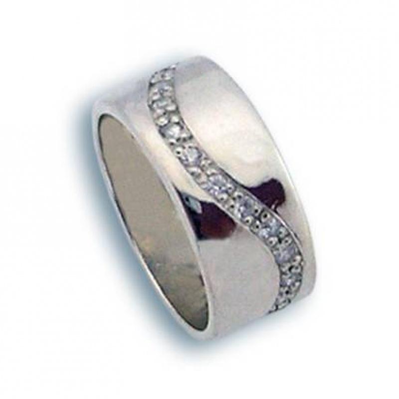 Сребърен пръстен с Камък 1615151-Пръстени