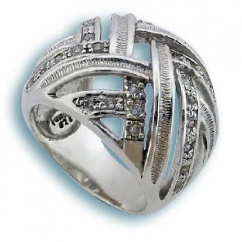 Сребърен пръстен с Камък 1615173-Пръстени