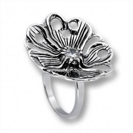 Сребърен пръстен с Камък 1595861-Пръстени