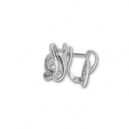 Annabelle - Сребърни обеци с Цирконий 114536-Сребърни бижута