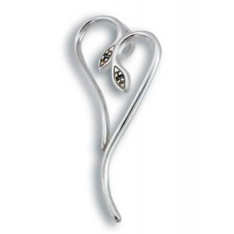 Rosalinda - Сребърна висулка с Цирконий 182342-Сребърни бижута