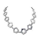 Malinda - Сребърно колие с Цирконий  700375-Сребърни бижута
