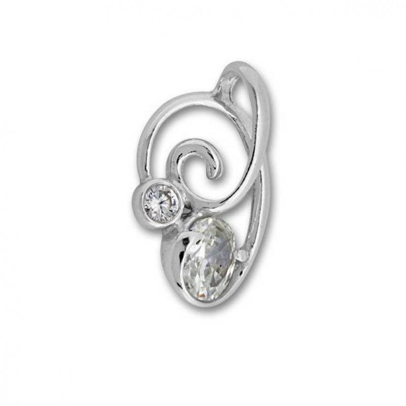 Annabelle - Сребърна висулка с Цирконий 182536-Сребърни бижута