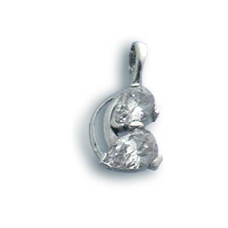 Mallory - Сребърна висулка с Цирконий 184169-Сребърни бижута
