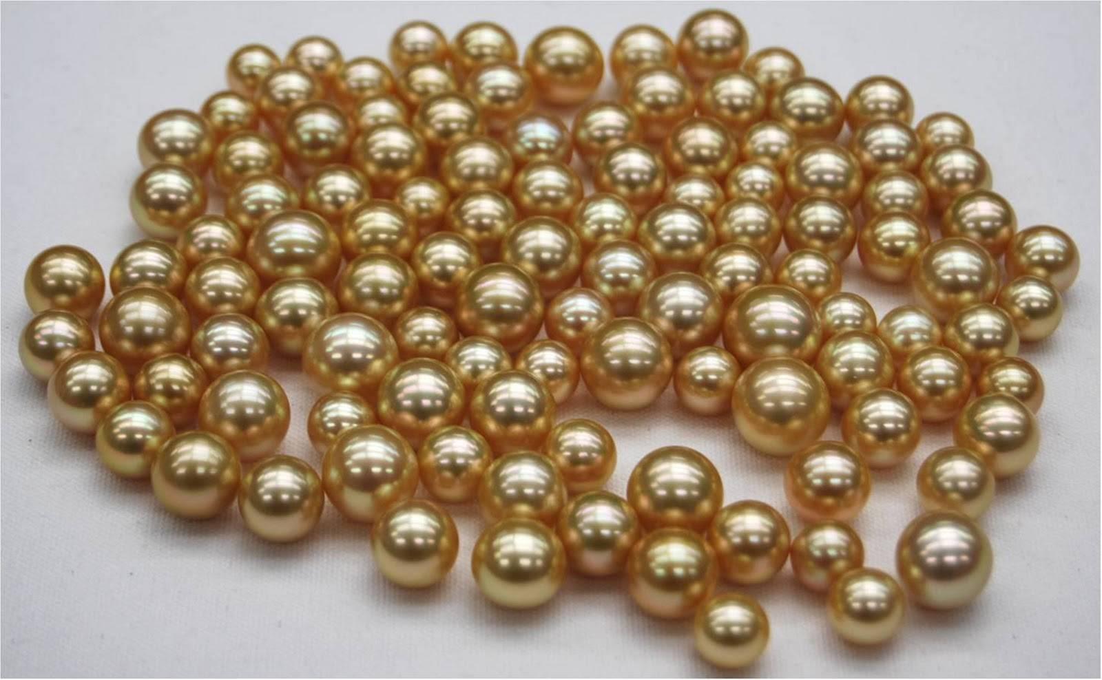 Златисти перли от Южно море